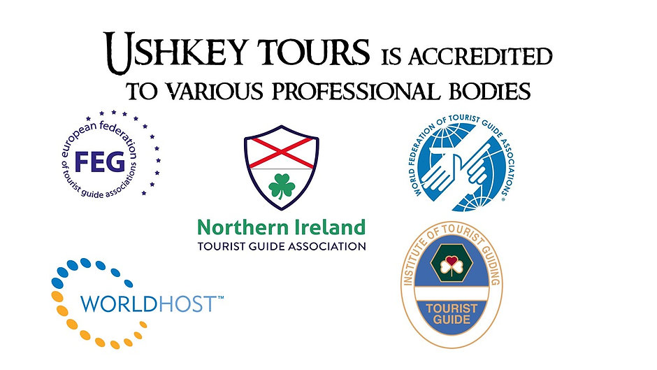 Ushkey tours is accredited to various pr