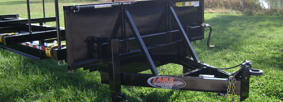 40' - 50' Extendable Stick Pipe Trailer