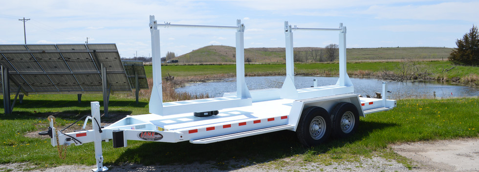 LANE Double Reel Turret Trailer