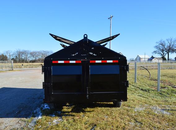 Dump Trailer Rear View