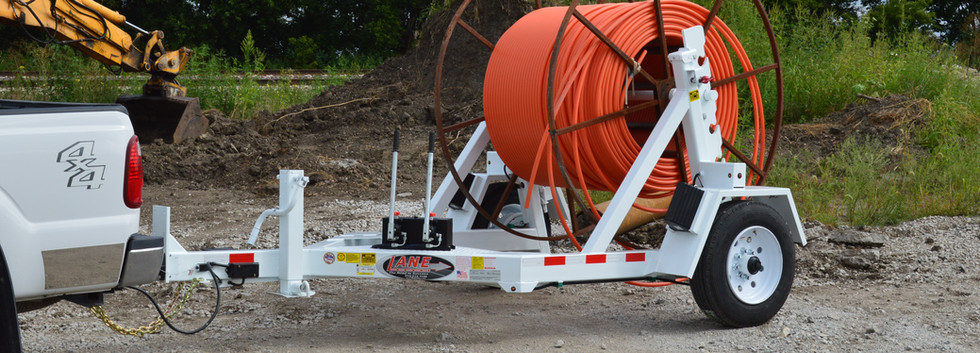 8K Auto Locking Cable Reel Trailer