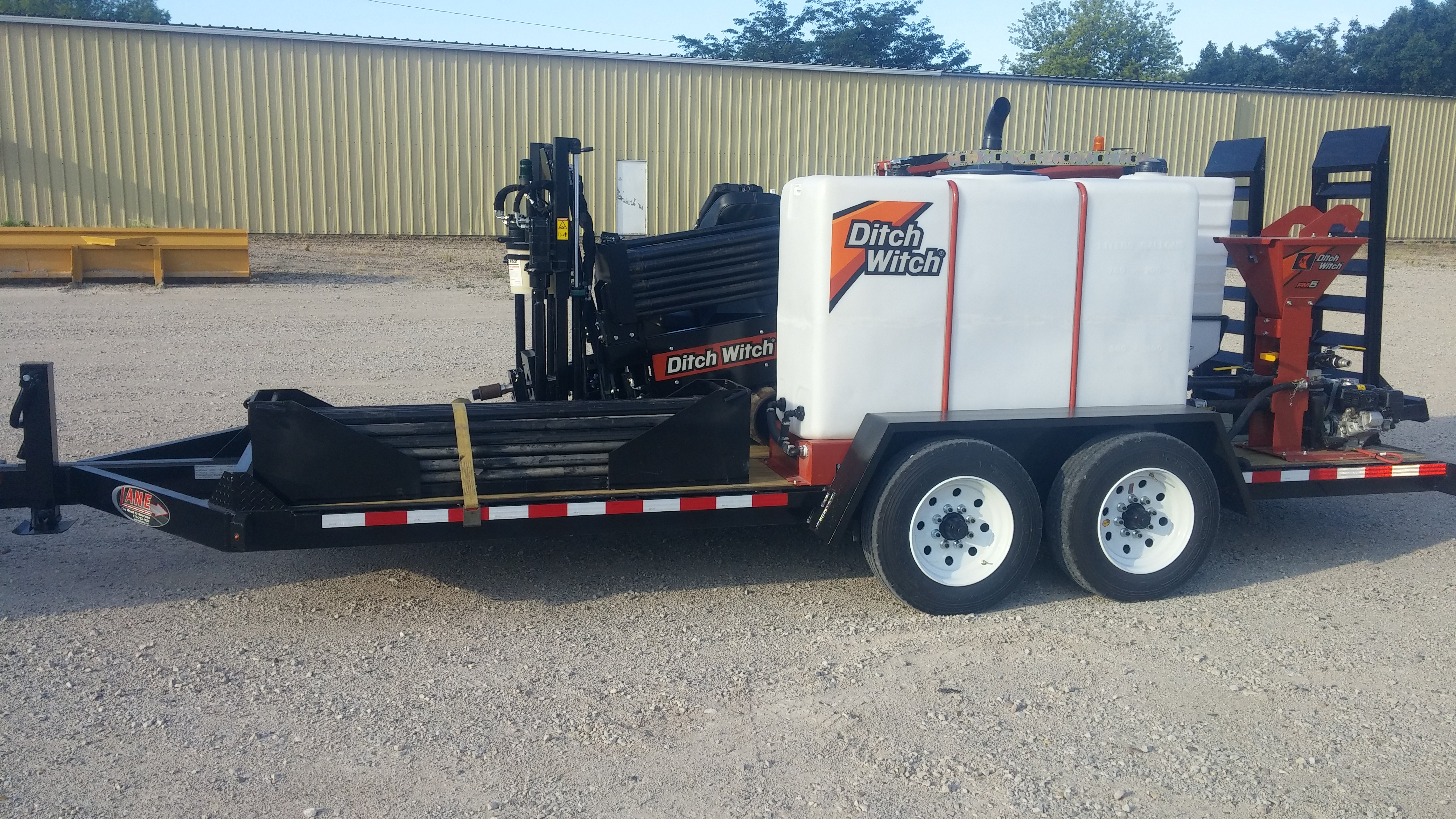 LMC Directional Drill Trailer | Boone | LANE Trailer Manufacturing Co