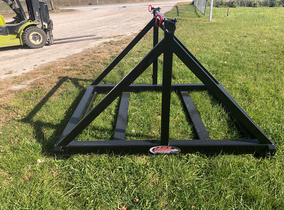 Reel Stand With Fork Holders