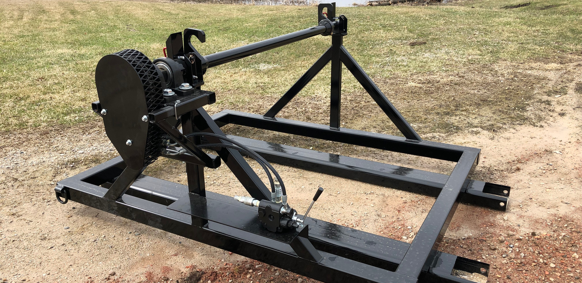 Reel Stand With Retriever Attachment