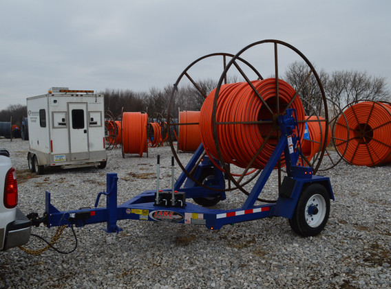 10K Auto Locking Cable Reel Trailer