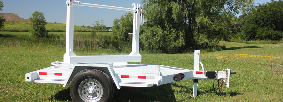 LANE Single Reel Turret Trailer