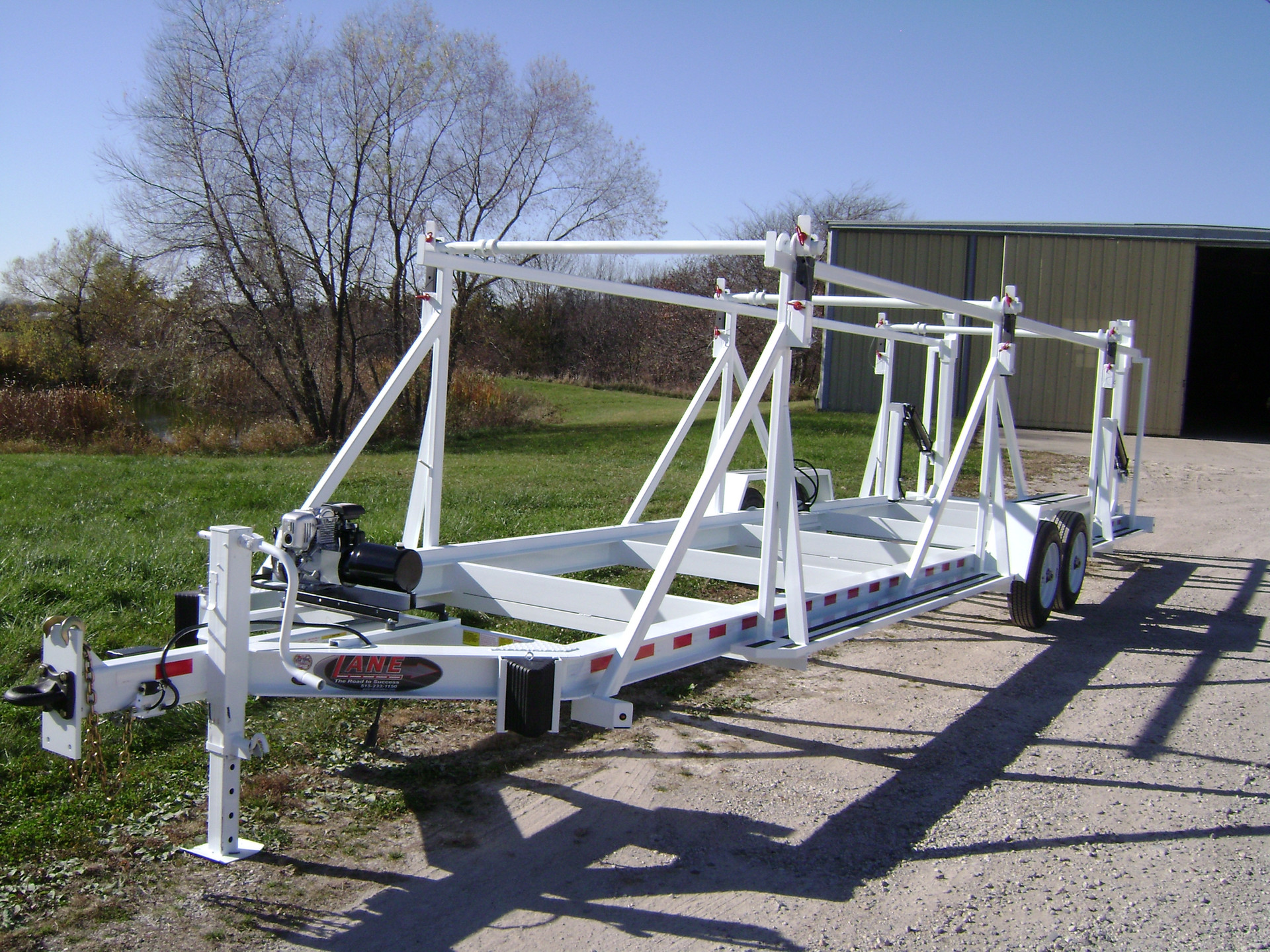 Self Loading Multi Reel Trailers