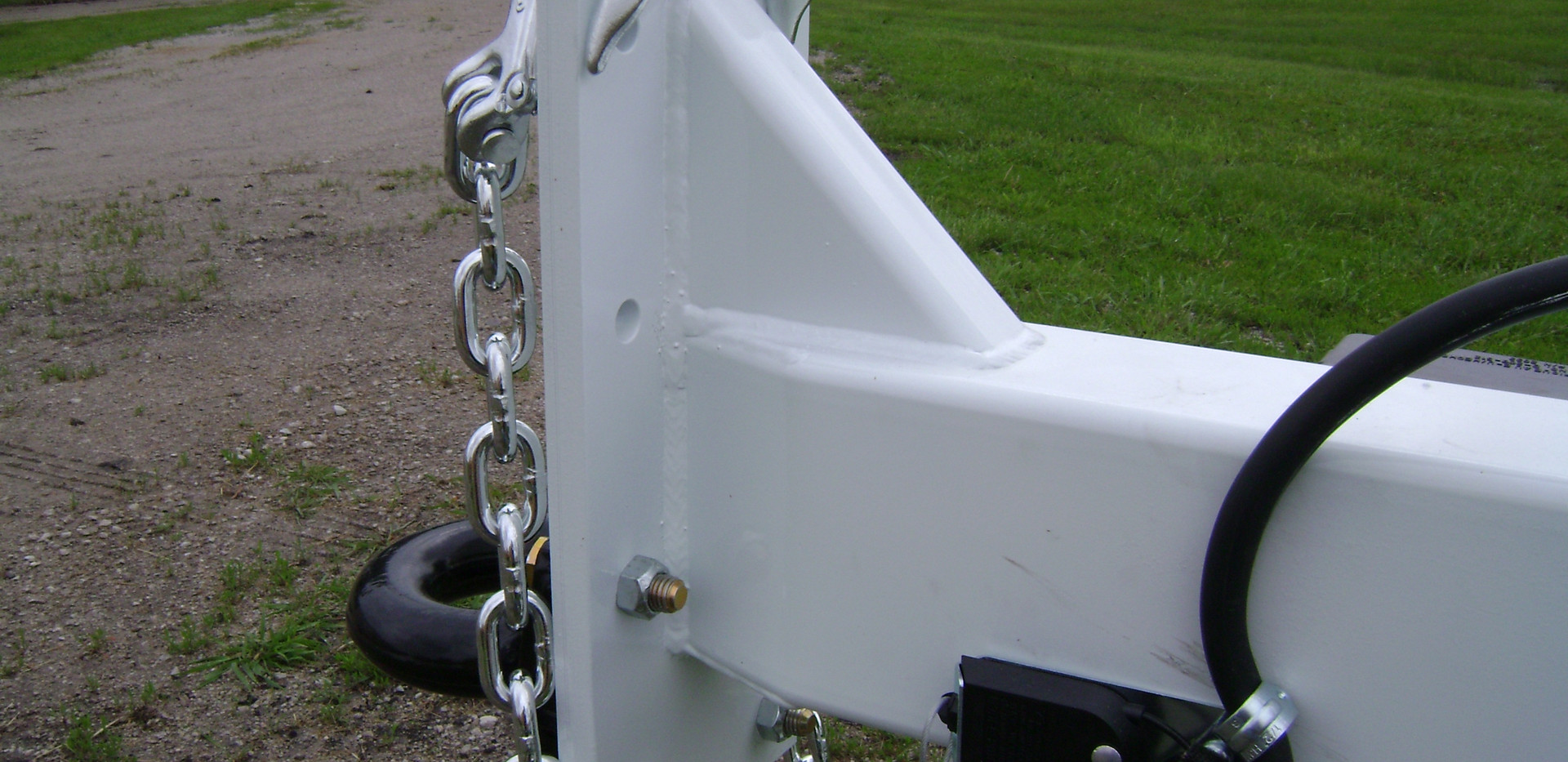 "Flat Plate Hitch With 3"" Pintle"