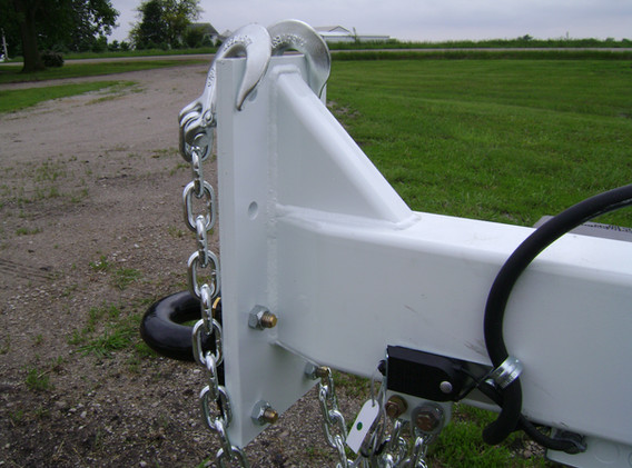 """Flat Plate Hitch With 3"""" Pintle"""
