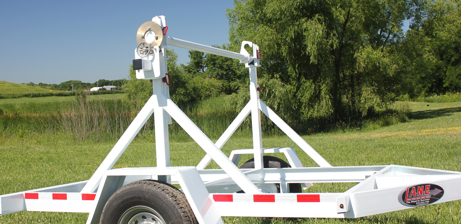 Single Reel Drop On Trailer - 7,000 lbs