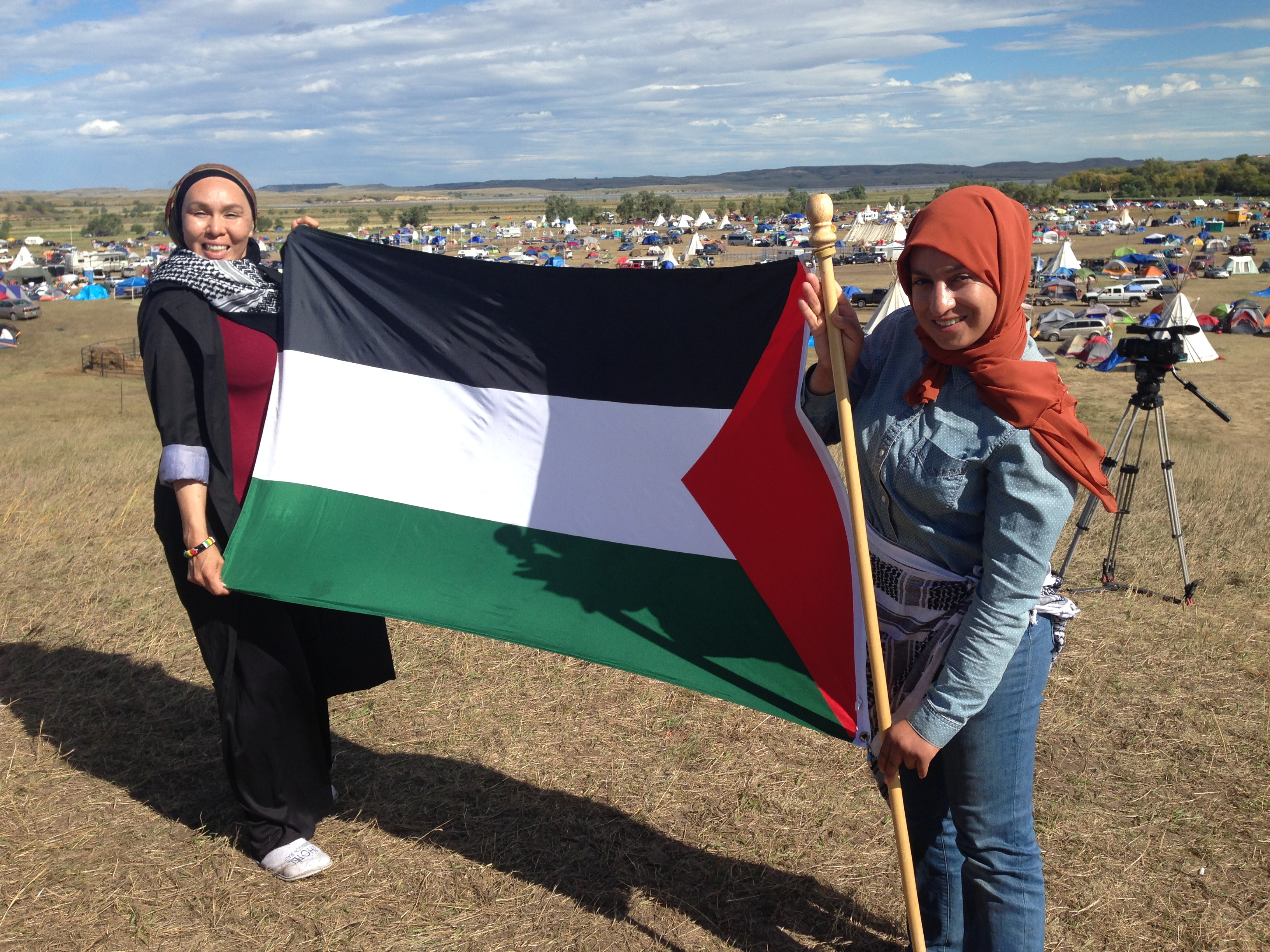 PalestinianWomenFlay