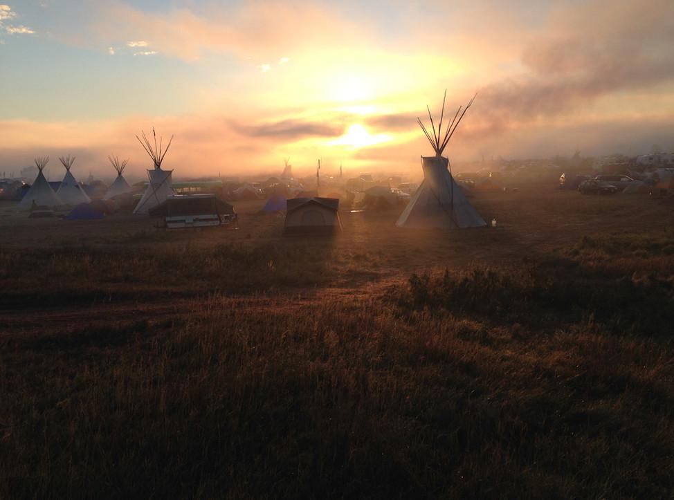 Media Bridge Dispatch Launches from Standing Rock Encampment