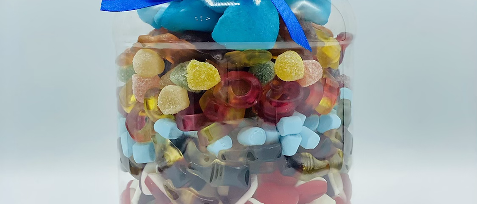 Pick n mix large jar -  personalised