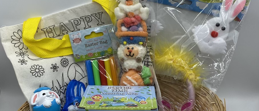 Easter basket - craft style