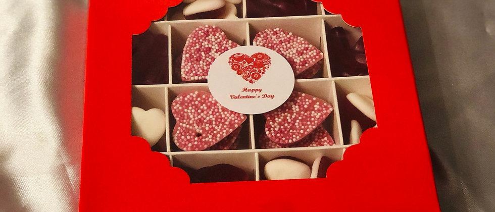 Valentines sweet box