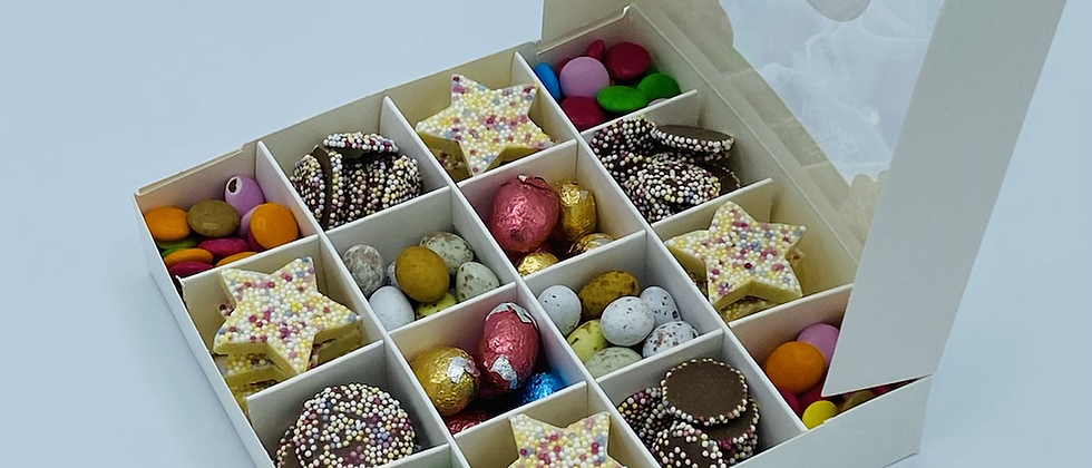 Easter choc filled box