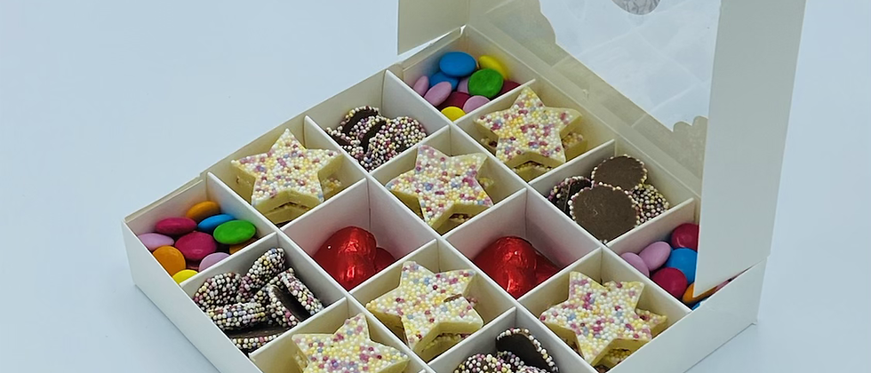 Mother's Day chocolate filled box