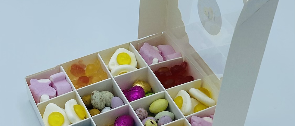 Easter sweet filled box