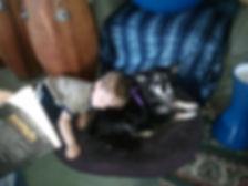 Auggie and Ladybug