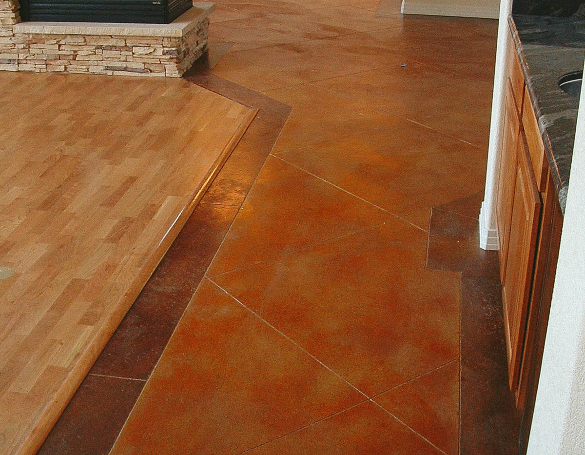 indoor stamp and stain