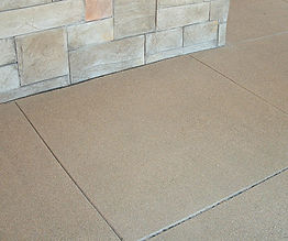 sand finish concrete