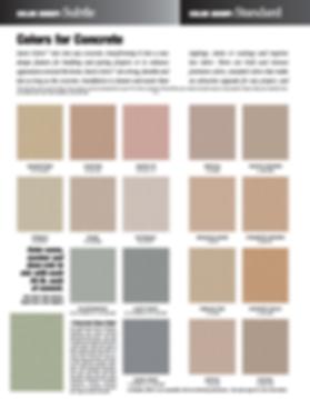 Davis Color Chart Page 1