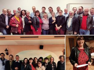 Irina Gote candidate à la Municipalité