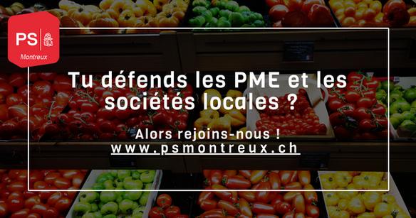 sociétés locales et PME