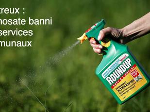 Depuis 2016, le glyphosate n'est plus utilisé par les services communaux à Montreux.