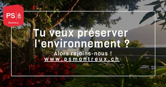 environnement montreux