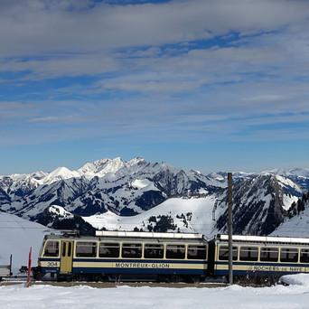 Sortie de ski des élèves de Montreux-Est... aux Mosses ?