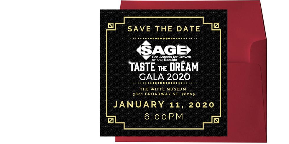 Taste The Dream Gala 2020
