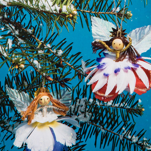 Angel Ornaments Package and Book