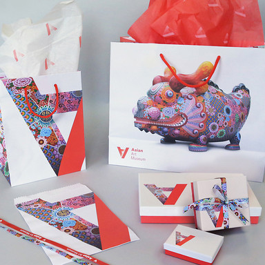 Retail bags for Asian Art Museum