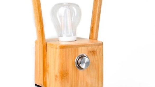 Bamboo Lamp Oplaadbaar