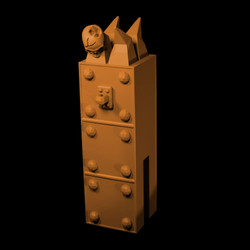 Mini column 1 City of dis modular walls