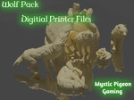 Buy Wolf Pack and Dog house (digital files for home printing) from Mystic Piegon Gaming
