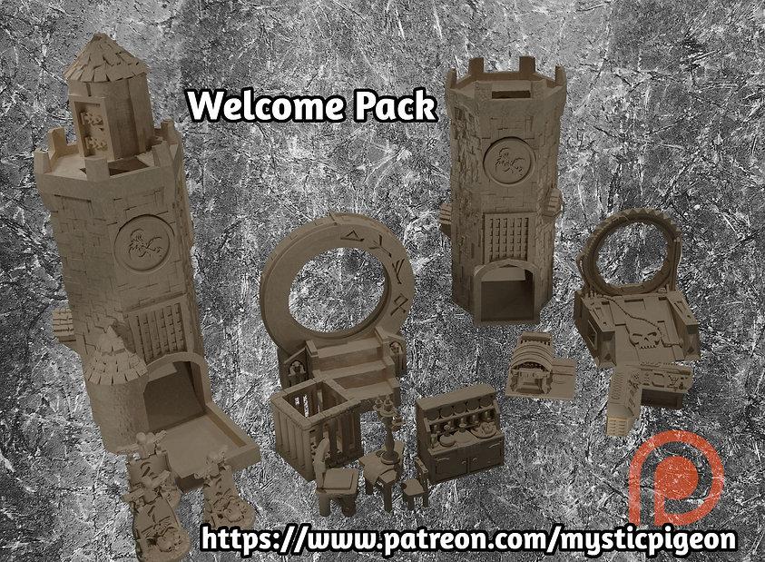 Welcome Pack 1 Mystic Pigeon Gamings Patreon
