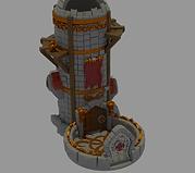 Elven observation dice tower (3D home printing version)