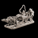 Buy Goblin mine cart riders with rat mounts from Mystic Piegon Gaming