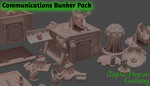 Buy Communications bunker (3D home printing files) from Mystic Piegon Gaming