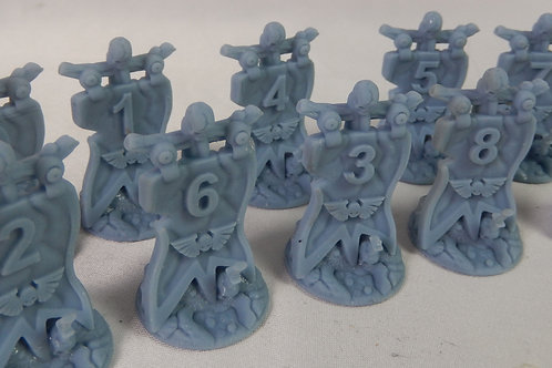 Objective markers for Warhammer/tabletop games
