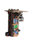 Industrial tower terrain and dice tower