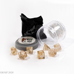 Buy BOSS DICE - GLITTER GOLD from Mystic Piegon Gaming