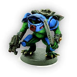 Frog space marines (Resin Miniatures)