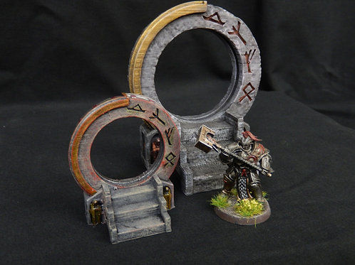 Arcane gate / star gate for use in tabletop games