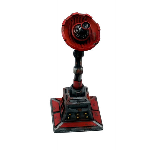 Communications dish resin sci fi miniature (Necromunda,Warhammer 40k, Star Wars)