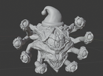 Buy Santa Beholder Miniature and Xmas Tree Ornament from Mystic Piegon Gaming