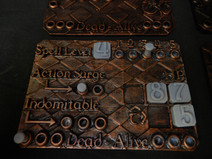 Hit Point, Spell and resource tracker cards for Dungeons and Dragons 5th edition