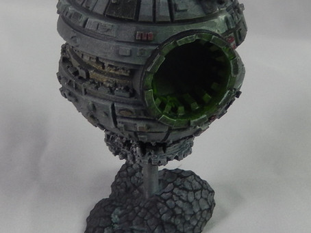 Death stars to Borg spheres a take on one of my favourite Sci-fi ships